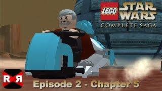 getlinkyoutube.com-LEGO Star Wars: The Complete Saga - Episode 2 Chp. 5 - iOS / Android - Walkthrough Gameplay
