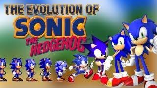 getlinkyoutube.com-The Evolution of Sonic the Hedgehog