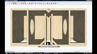 "getlinkyoutube.com-RAM Designs: Rockford Fosgate 10"" T1 Bandpass Box Design"