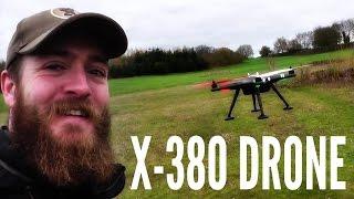 getlinkyoutube.com-XK DETECT X380 Quadcopter + EKEN H9 | First Flight