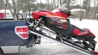 getlinkyoutube.com-Snowmobile ramp