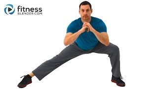 getlinkyoutube.com-Low Impact Lower Body and Core Tabata Workout - Tabata Style Low Impact Workout