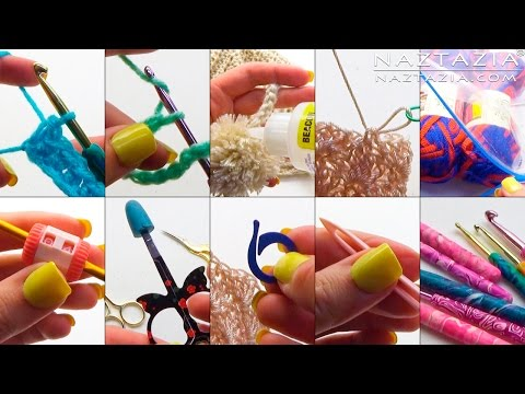 DIY Tutorial - Top 10 Crochet Tips and Tricks from Donna Wolfe from Naztazia