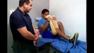 getlinkyoutube.com-Ejercicios para mejorar flexion de rodilla por lesion de ligamentos