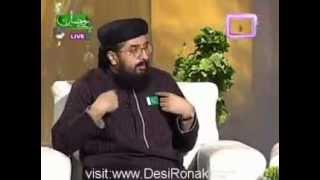 PTV Home Aftar Transmission By Hazrat Allama Shafaat Rasool 7th Aug 2012