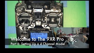 Welcome to the Turnigy 9XR Pro, Part 6: Mixing a 4-Channel Plane