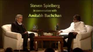 getlinkyoutube.com-Filmmaker Steven Spielberg in conversation with actor Amitabh Bachchan (Part 2)