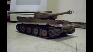 getlinkyoutube.com-RC Panzer Tiger 1/16th Scale Custom Heng Long build