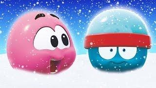 Funny Cartoon  | Winter Adventure | WonderBalls | All New Episode | Cartoon Candy