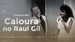 Vídeo raríssimo de Cristina Mel quando foi caloura do Programa Raul Gil