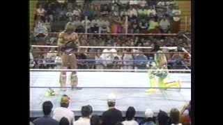 getlinkyoutube.com-Ultimate Warrior vs. Randy Savage drama, WWF 1992