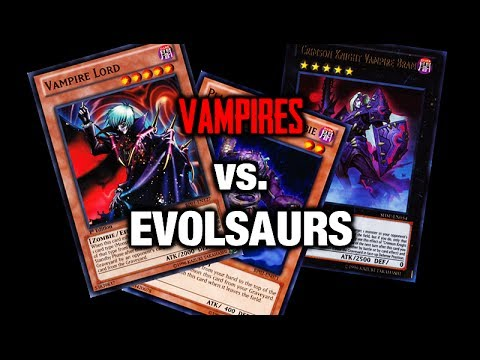 You poor soul - Vampires vs. Evolsaurs