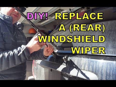 DIY Rear Windshield Wiper Replacment
