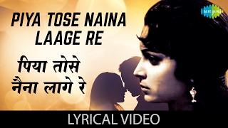 Piya Tose Naina Laage Re with lyrics   पिया तोसे नैना लागे रे गाने के बोल   Guide   Waheeda Rehman