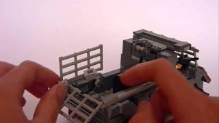getlinkyoutube.com-Lego remote control Zombie Defence Truck