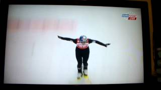 Thomas Morgenstern (AUT) horrible crash (141m) in Titisee-Neustadt, Ski Jumping World Cup 2013 [HD]