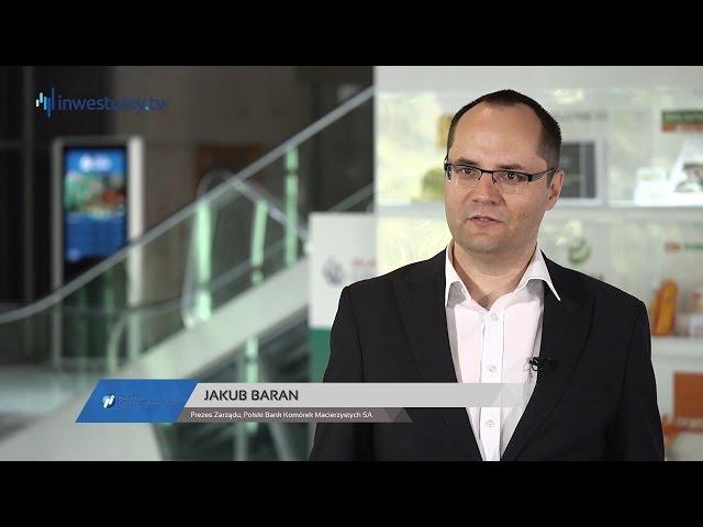 Polski Bank Komórek Macierzystych SA, Jakub Baran - Prezes Zarządu, #158 ZE SPÓŁEK