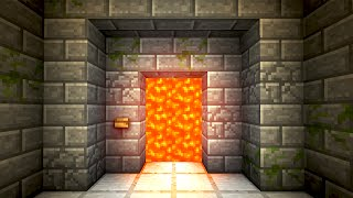 getlinkyoutube.com-Automatic Lava Door! - Minecraft Tutorial