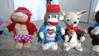 getlinkyoutube.com-2017 Gemmy and Cuddle Barn Plush Animatronics