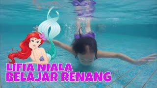 getlinkyoutube.com-#1 Mermaid style Underwater - Kolam renang anak Swimming pool kids Weekend LifiaNiala - GoPro