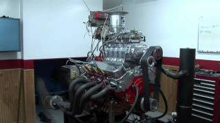 Big Block SuperCharged Chevy Engine Dyno Testing