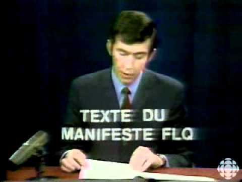 Document 4 :  Le manifeste du FLQ d'octobre 1970