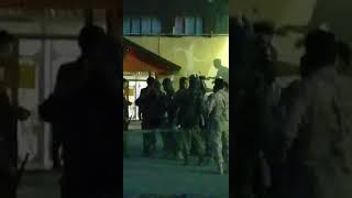 آماده شدن نیروهای سپاه در پادگان سپاه در کرج برای سرکوب مردم دوشنبه ۱۵ مرداد