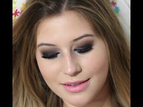Tutorial maquiagem olho preto