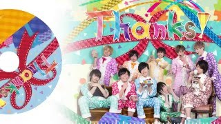 【むすめん。】3rdアルバム「Thanks!」クロスフェード 【4月2日発売】