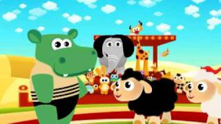 "getlinkyoutube.com-Cartoon animation for babies ""the hippo"""