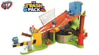 getlinkyoutube.com-THE TRASH PACK Sewer Dump Slime Playset Unboxing Video by Toy Review TV