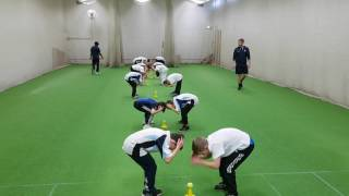 Grab - Cricket Warm Up Game
