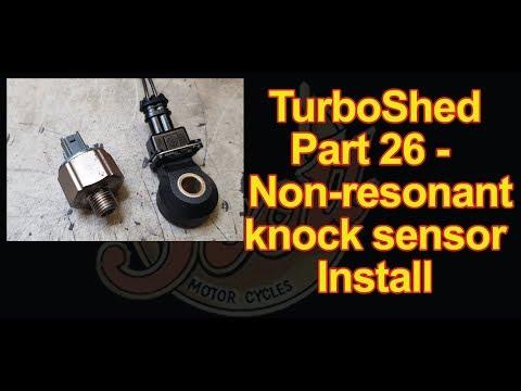 TurboShed Part 26 - Non resonant knock sensor upgrade 1UZ Turbo