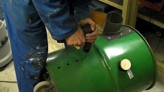 getlinkyoutube.com-Extractor Upgrade - Custom Hepa Filter / Off-centre Cyclonic Inlet - Workshop Vacuum