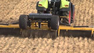 Claydon Cambridge Rolls, working direct on stubble in strip till, direct drill situation.
