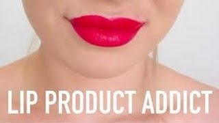 getlinkyoutube.com-[REUPLOAD] TAG: Lip Product Addict | Lime Crime, elf sverige, YSL