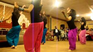 getlinkyoutube.com-Shaadi Dance Delhi and punjab Girls dancing