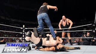 getlinkyoutube.com-Roman Reigns & Dean Ambrose vs. Sheamus & Big Show: SmackDown, July 16, 2015
