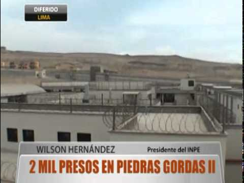 2000 presos en Piedras Gordas II