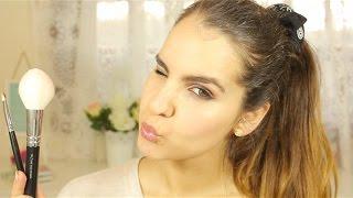 getlinkyoutube.com-Tutorial - Maquilhagem para adolescentes / iniciantes com dicas e só 2 pincéis- Sara Ferreira