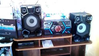 getlinkyoutube.com-Mini system Samsung MX-JS5000 1500W RMS (chris brown ft tyga ayo)