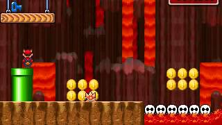 (Brynn1100, Mariovariable3410) New Super Fusion Bros. W1-29: Skullraft river