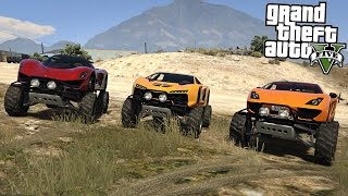 getlinkyoutube.com-GTA 5 Mods - SUPERCAR MONSTER TRUCKS