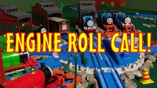 getlinkyoutube.com-TOMICA Thomas & Friends Music Video: Engine Roll Call! (with Sing-A-Long Lyrics)
