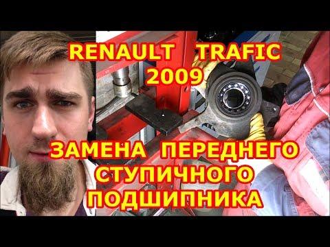 Расположение в Рено Трафик рулевых наконечников