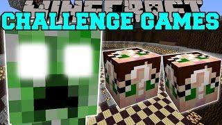 getlinkyoutube.com-Minecraft: CREEPER TITAN CHALLENGE GAMES - Lucky Block Mod - Modded Mini-Game