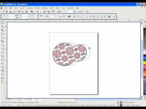 Learn CorelDRAW GRAPHICS SUITE X4 & 9 in URDU - IACA Lesson 9