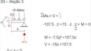 getlinkyoutube.com-Cálculo do Momento Fletor
