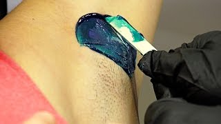 getlinkyoutube.com-HOW TO WAX ARMPITS // Youtube Tutorial // Cirepil Blue Wax