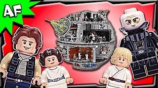 getlinkyoutube.com-Lego Star Wars DEATH STAR UCS 75159 Stop Motion Build Review